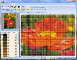 Программа перевода фото на схему для вышивания