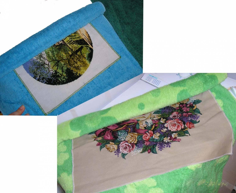 Как стирать и гладить вышивку : Статьи по вышивке крестом