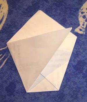 Как сделать конвертик для порошка