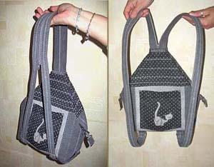 Рюкзак на одной лямке своими руками